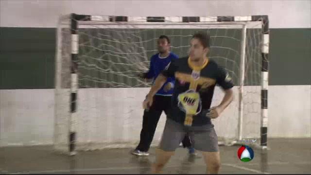 Time de Handebol sergipano treina para os Jogos Universitários