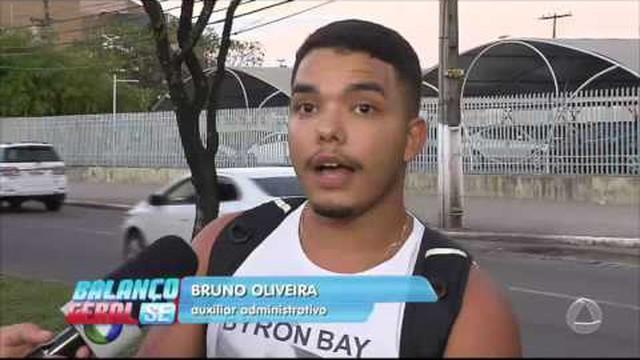 Balanço Geral Sergipe – Ciclistas reclamam das condições de ...