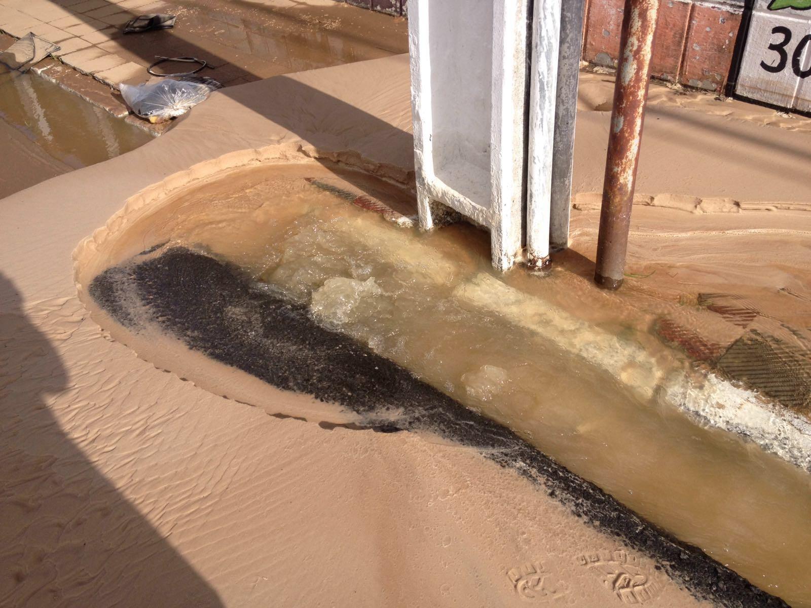 Sergipe – Cano estoura e internauta registra vazamento de água no ...